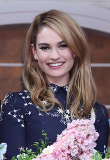 Lily James Plastic Surgery before and after