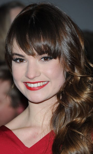 Lily James Plastic Surgery Before After